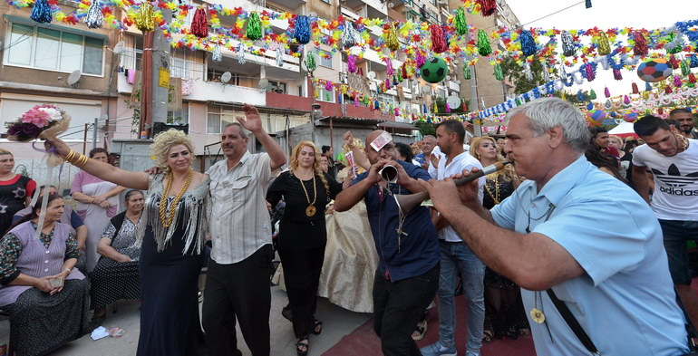 2 July 2018 Reconciliation ceremony of Roman families in Stolipinovo, Bulgaria
